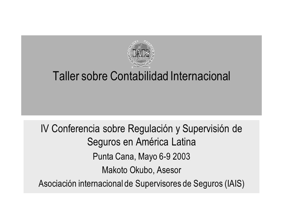 Taller sobre Contabilidad Internacional