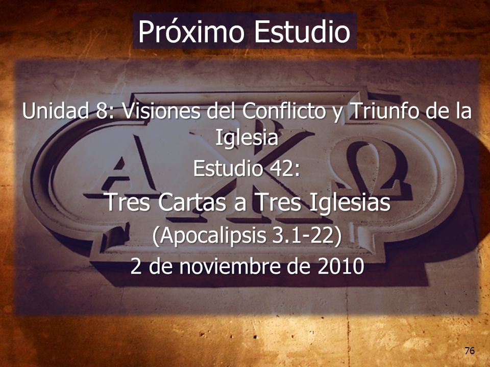 Unidad 8 visiones del conflicto y triunfo de la iglesia - Tres estudio ...