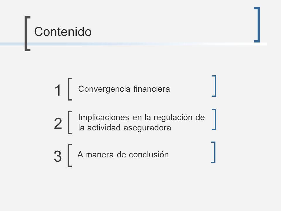 1 2 3 Contenido Convergencia financiera