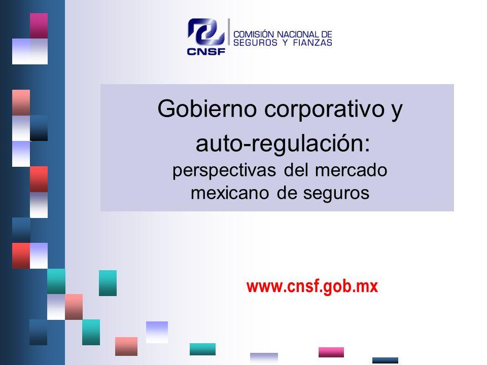 Gobierno corporativo y auto-regulación: perspectivas del mercado mexicano de seguros