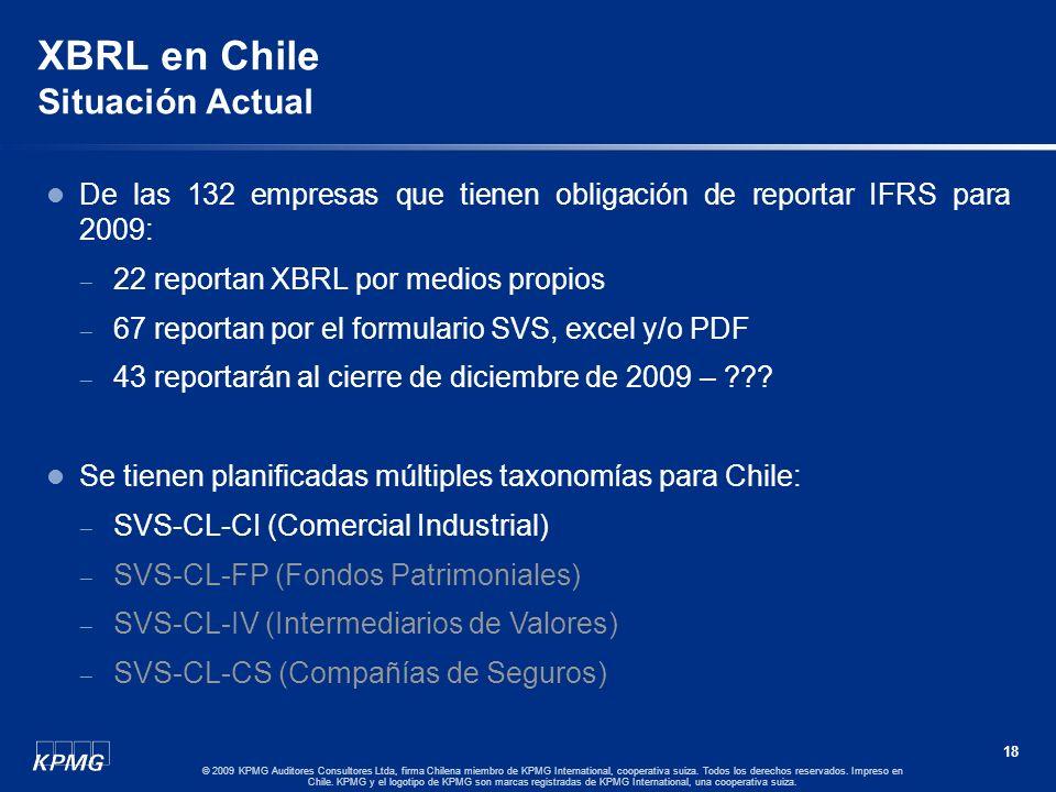 XBRL en Chile Situación Actual