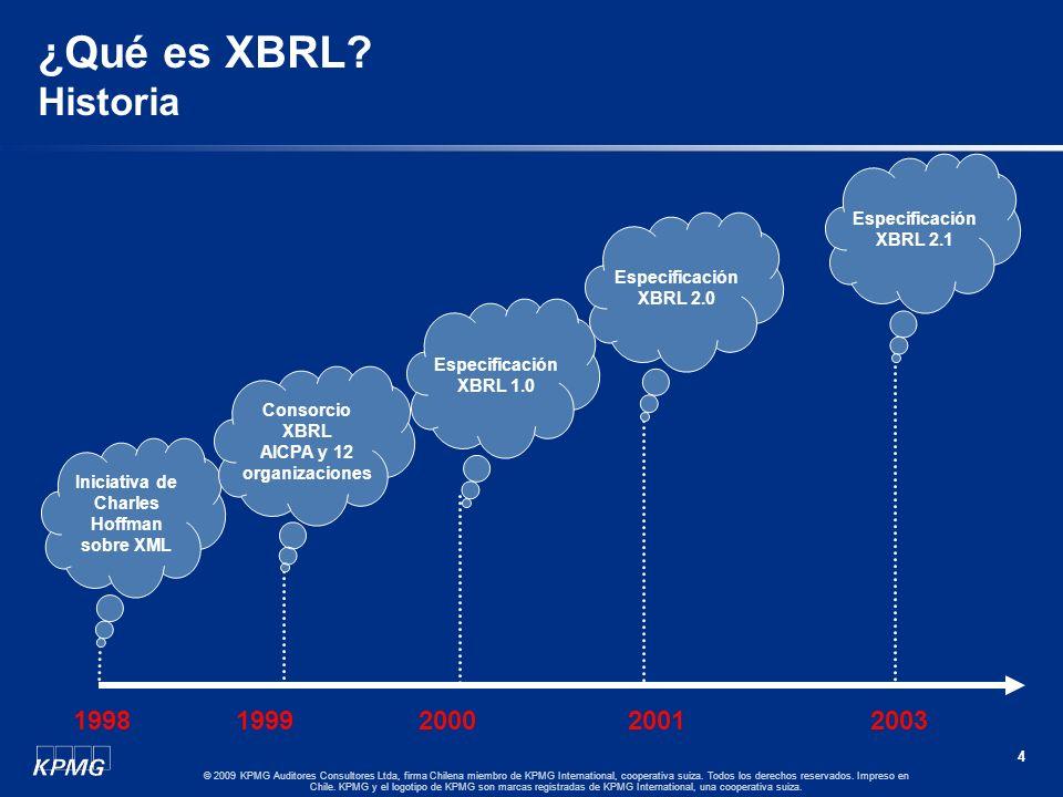 AICPA y 12 organizaciones Iniciativa de Charles Hoffman sobre XML