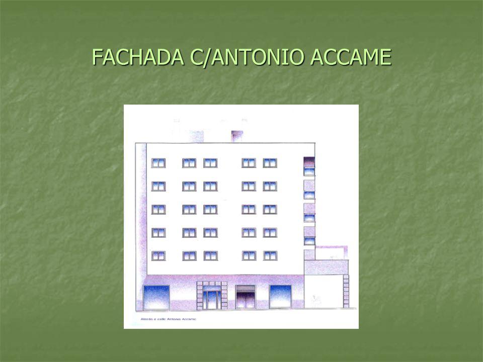 FACHADA C/ANTONIO ACCAME