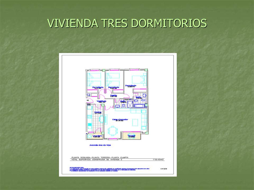 VIVIENDA TRES DORMITORIOS
