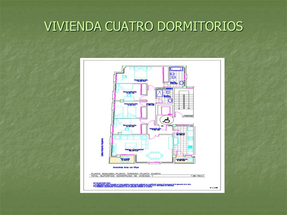 VIVIENDA CUATRO DORMITORIOS