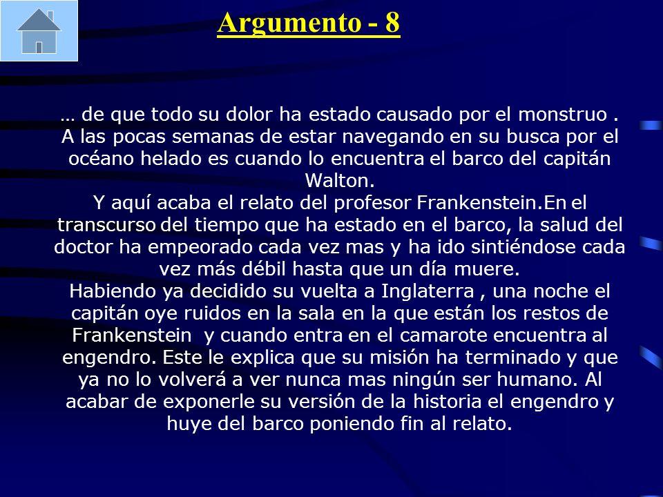 Argumento - 8