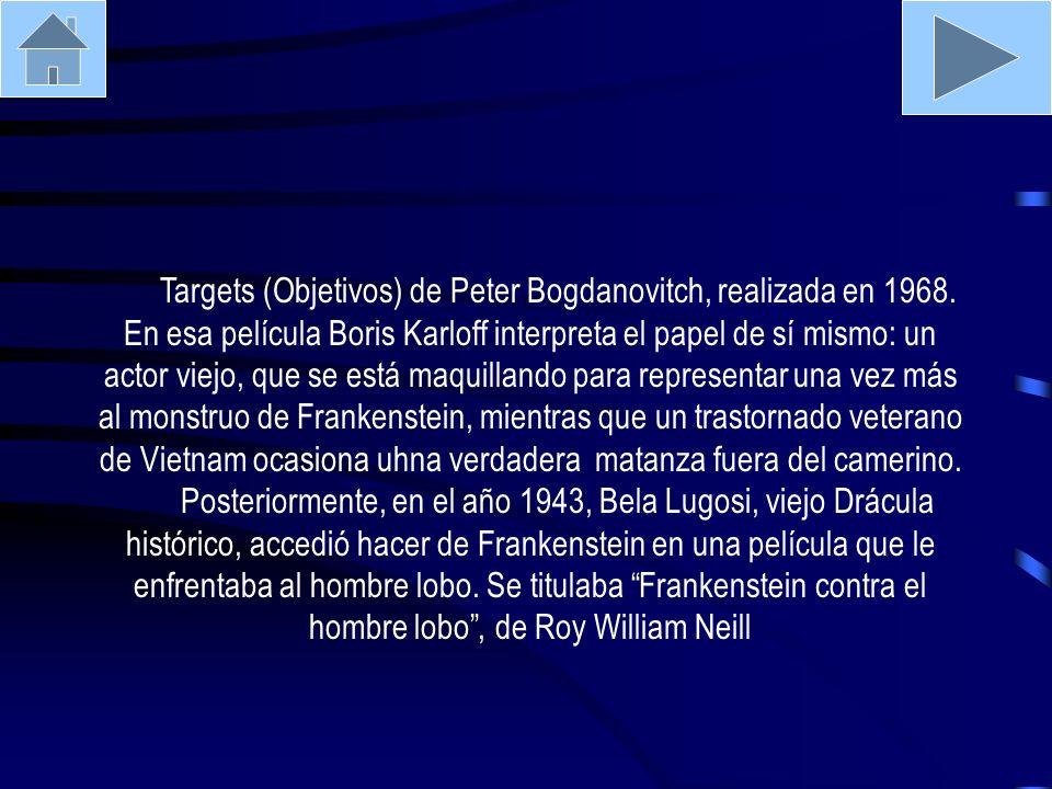 Targets (Objetivos) de Peter Bogdanovitch, realizada en 1968