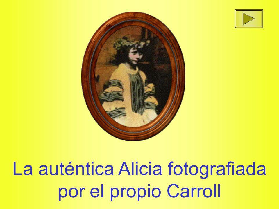 La auténtica Alicia fotografiada por el propio Carroll