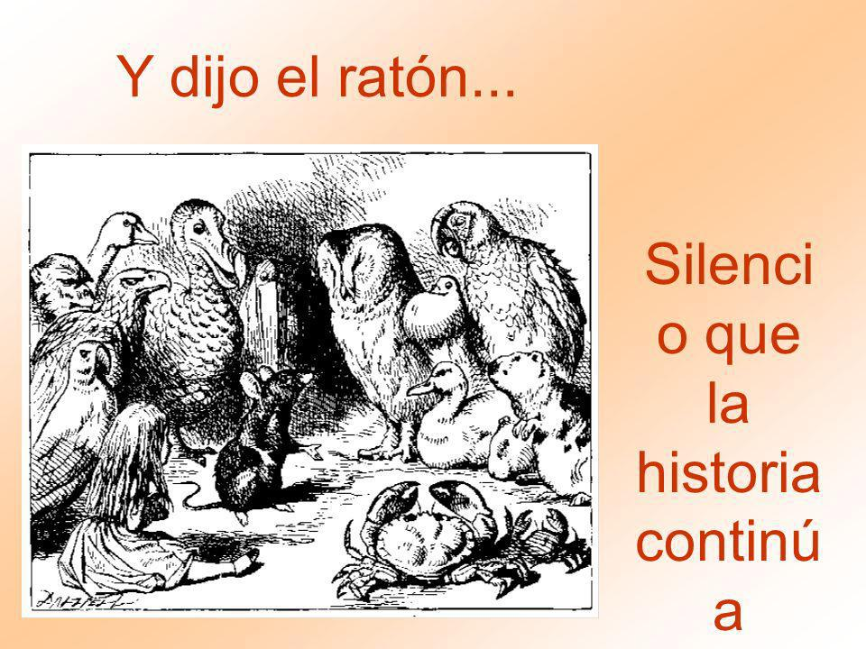 Silencio que la historia continúa