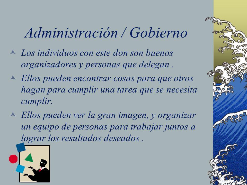Administración / Gobierno