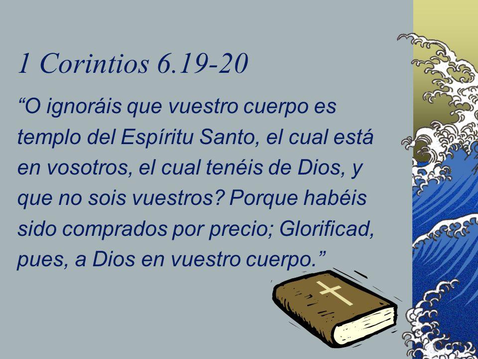 1 Corintios 6.19-20