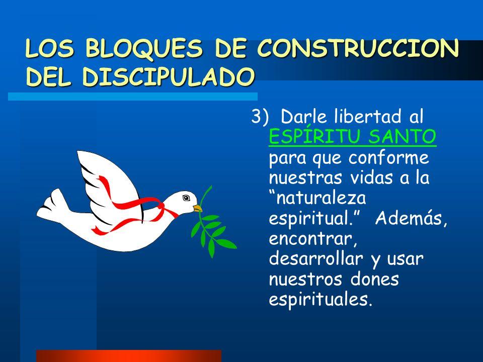 LOS BLOQUES DE CONSTRUCCION DEL DISCIPULADO