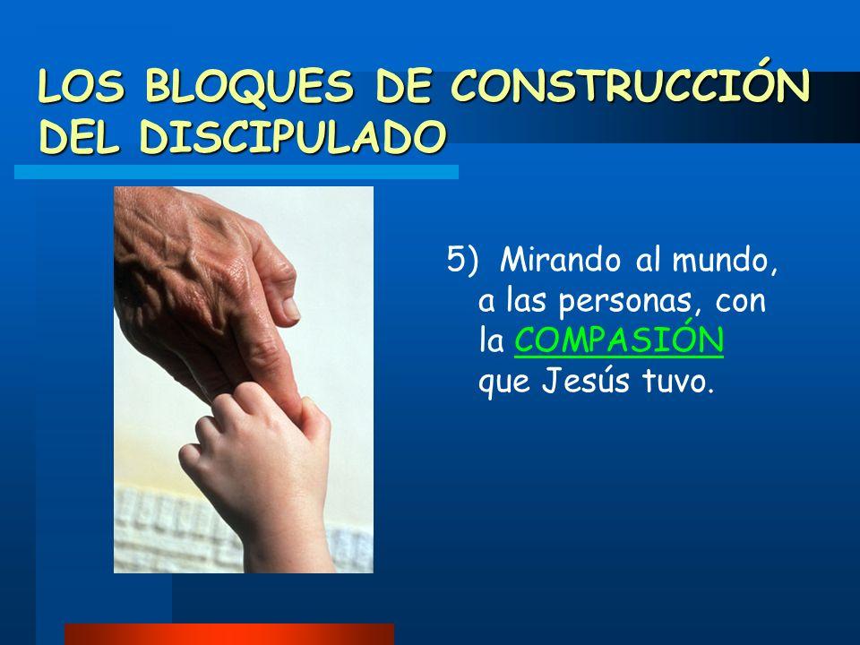 LOS BLOQUES DE CONSTRUCCIÓN DEL DISCIPULADO