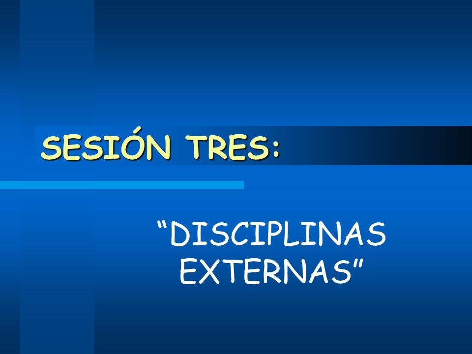DISCIPLINAS EXTERNAS