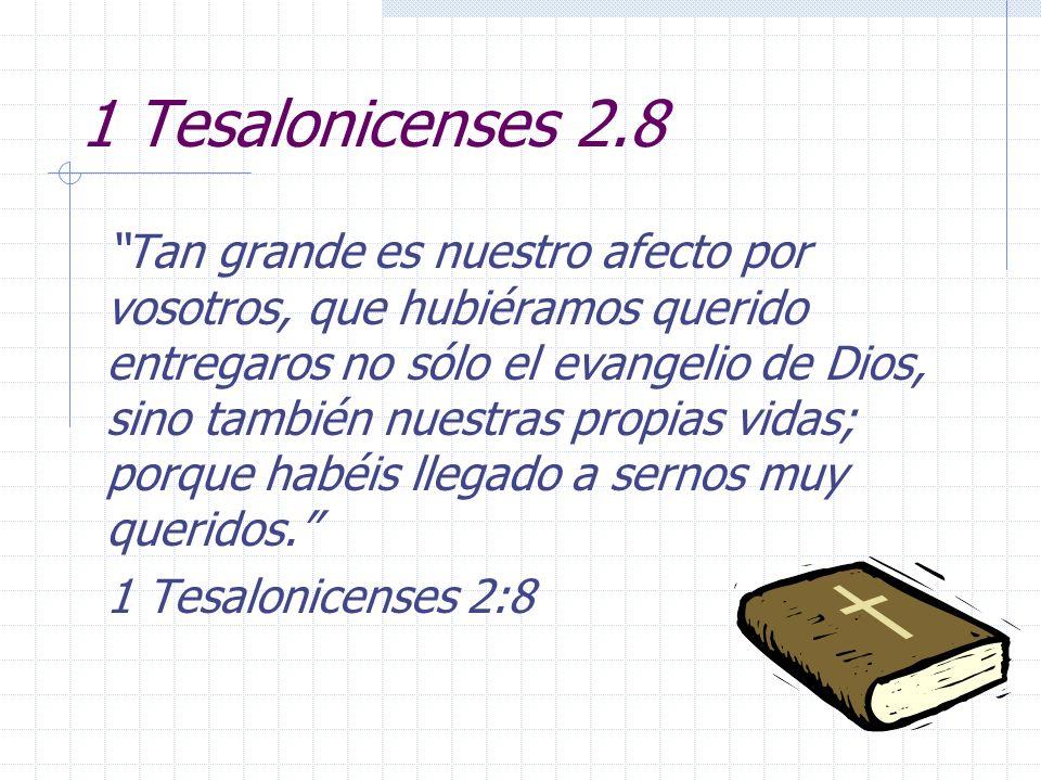 1 Tesalonicenses 2.8