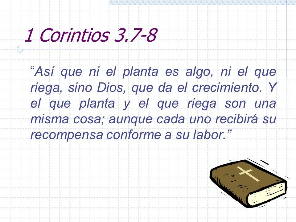 1 Corintios 3.7-8