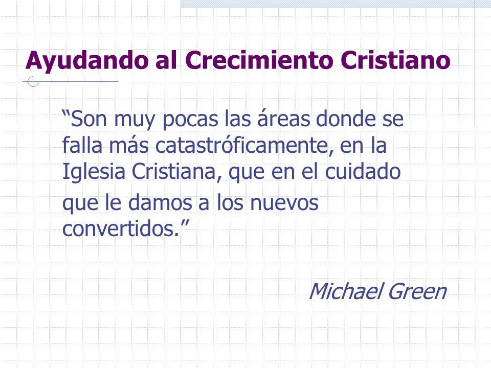 Ayudando al Crecimiento Cristiano