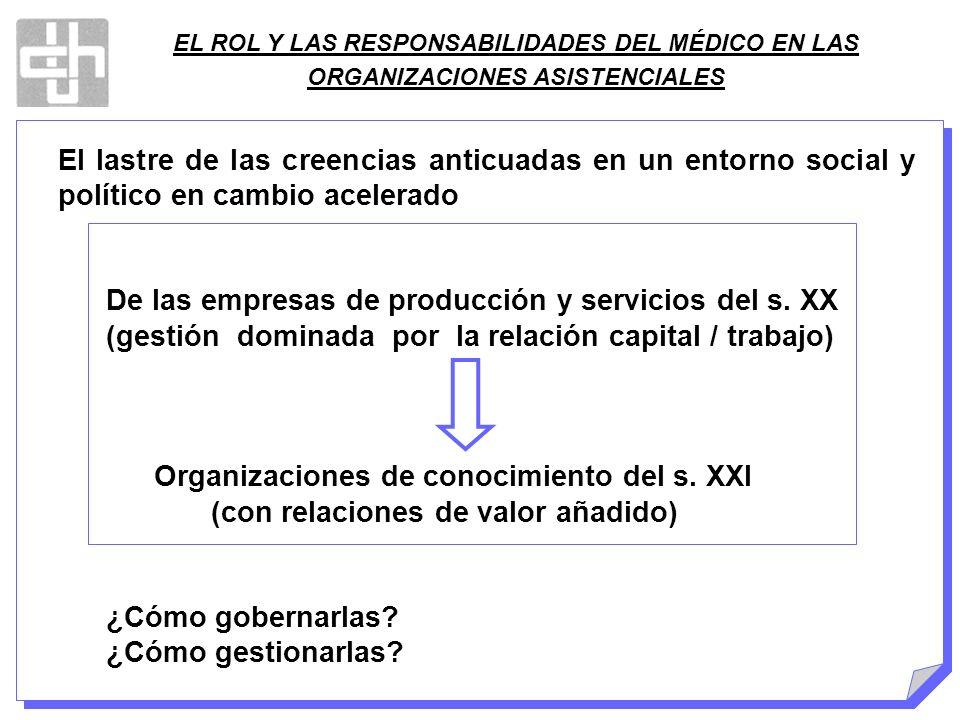 De las empresas de producción y servicios del s. XX