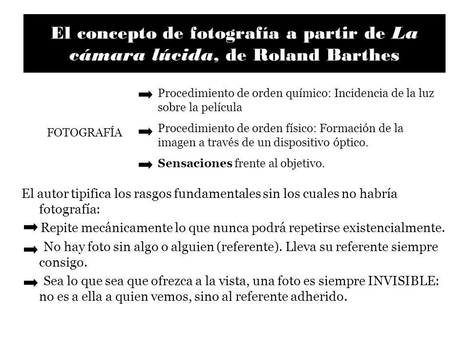 El concepto de fotografía a partir de La cámara lúcida, de Roland Barthes