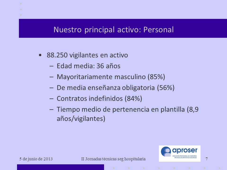 Nuestro principal activo: Personal