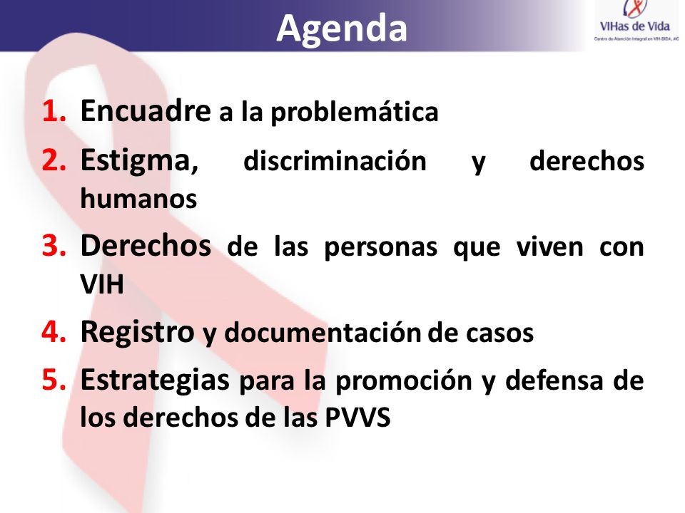 Agenda Encuadre a la problemática