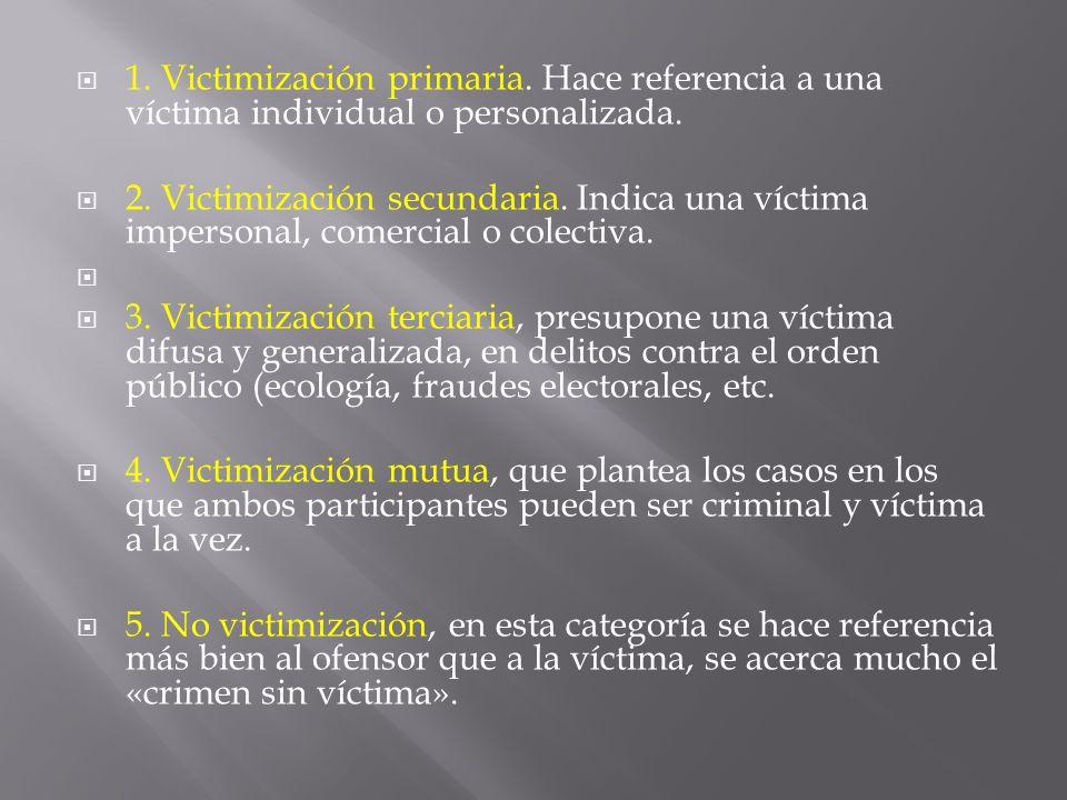 1. Victimización primaria
