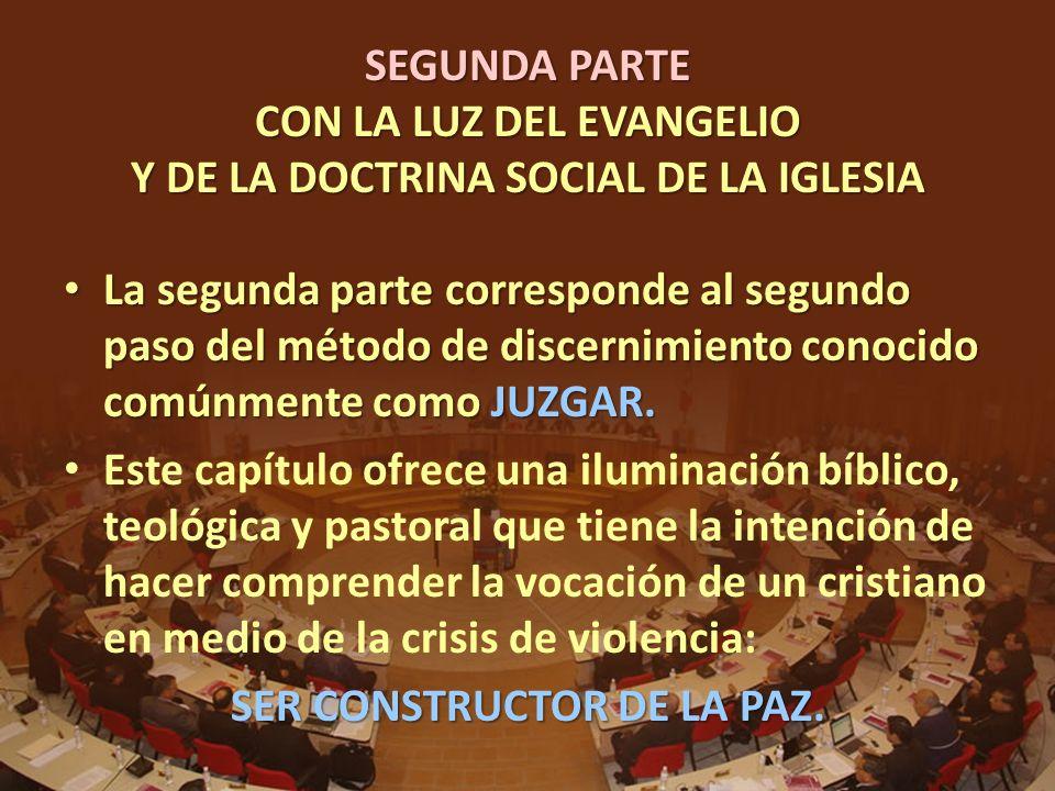 SER CONSTRUCTOR DE LA PAZ.