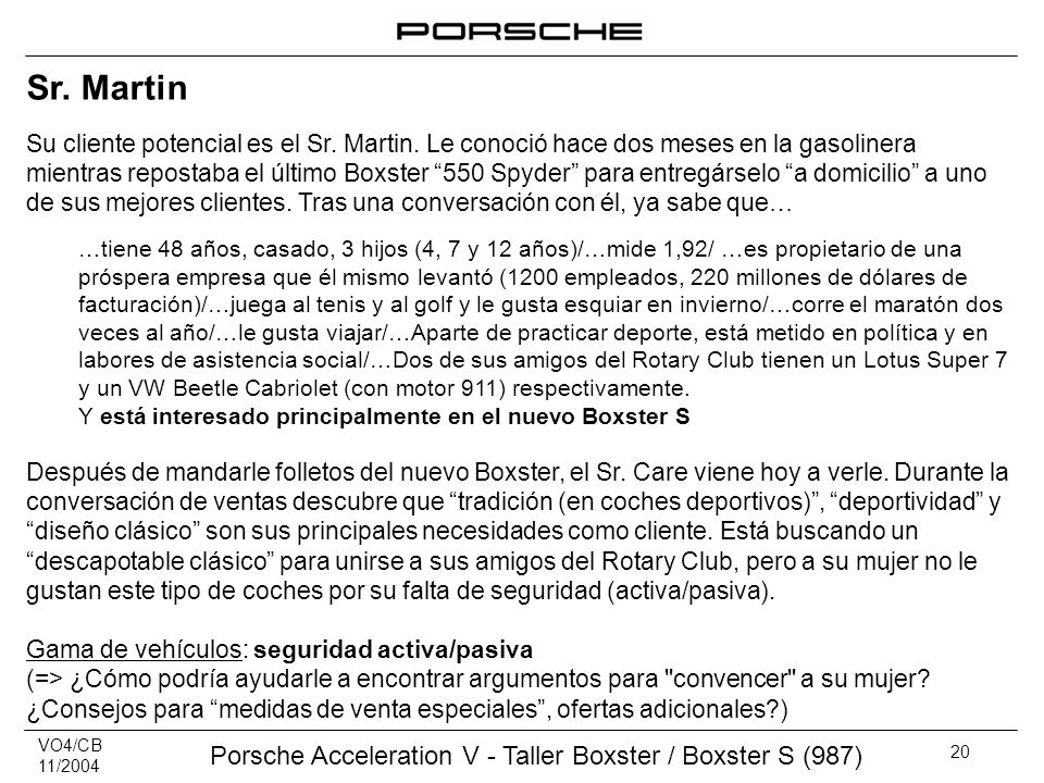 ‹header› ‹date/time› Sr. Martin.