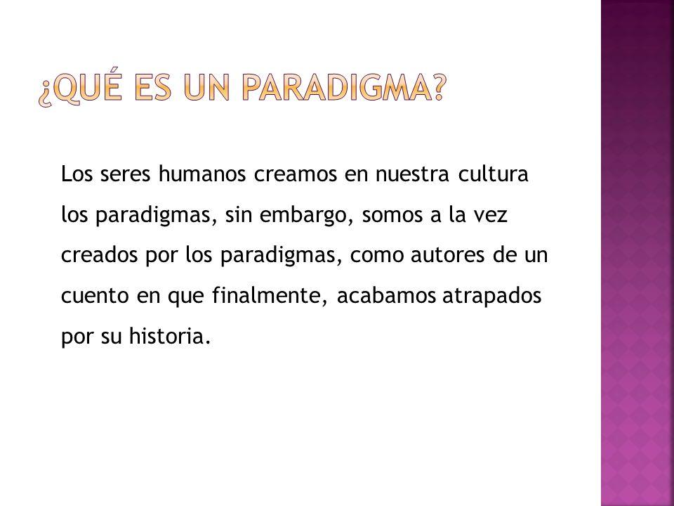 ¿Qué es un Paradigma
