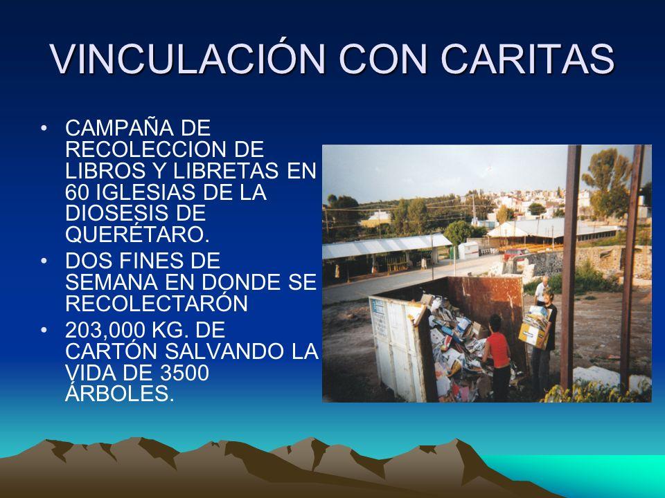 VINCULACIÓN CON CARITAS