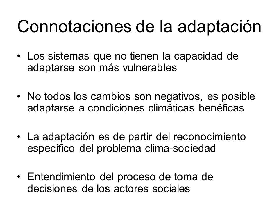 Connotaciones de la adaptación