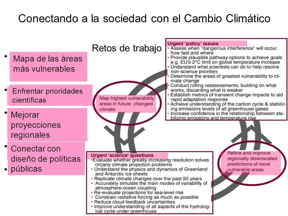 Conectando a la sociedad con el Cambio Climático