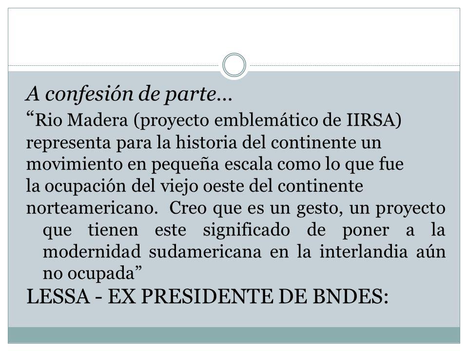 Rio Madera (proyecto emblemático de IIRSA)