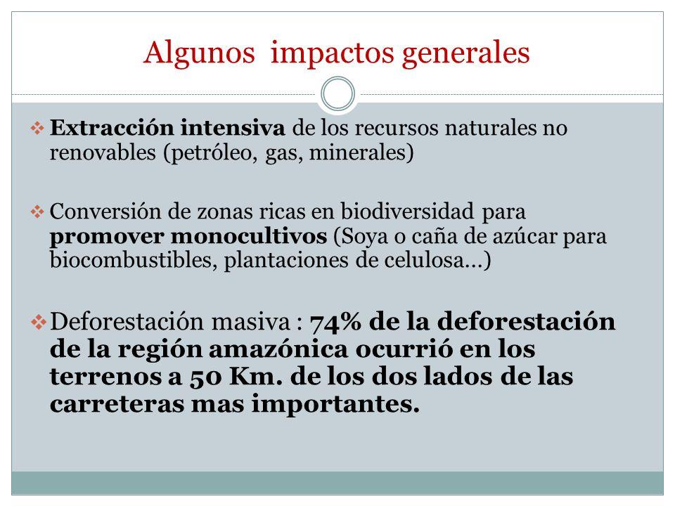 Algunos impactos generales