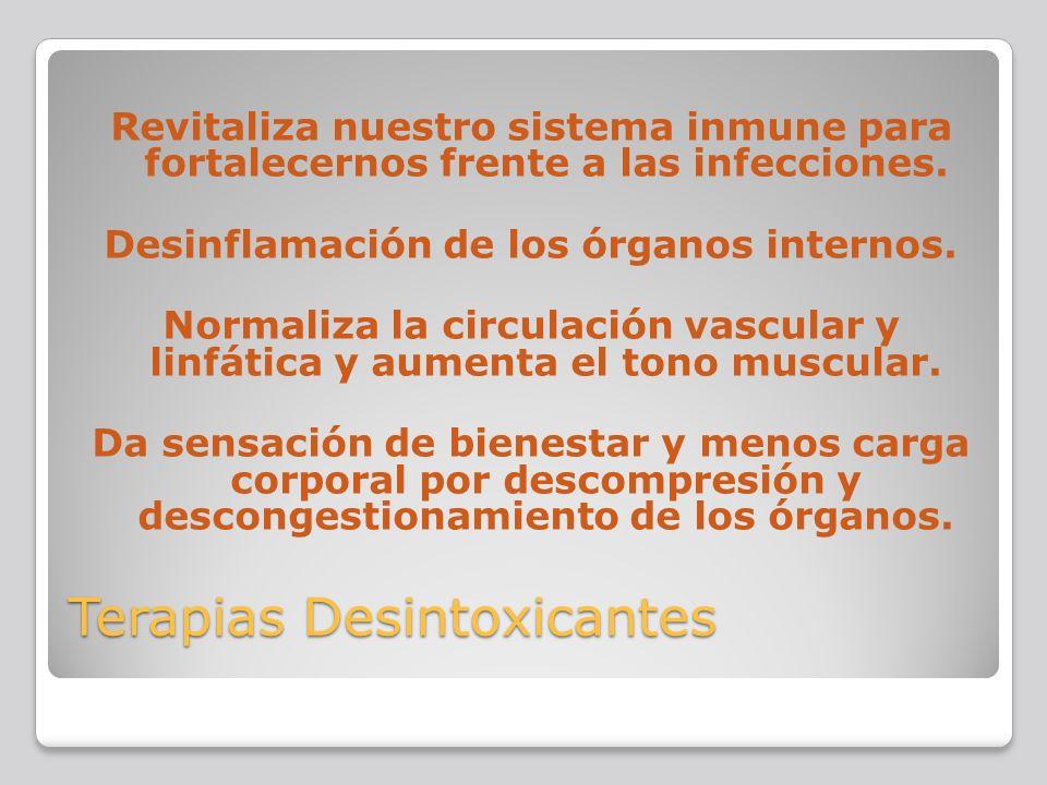 Terapias Desintoxicantes
