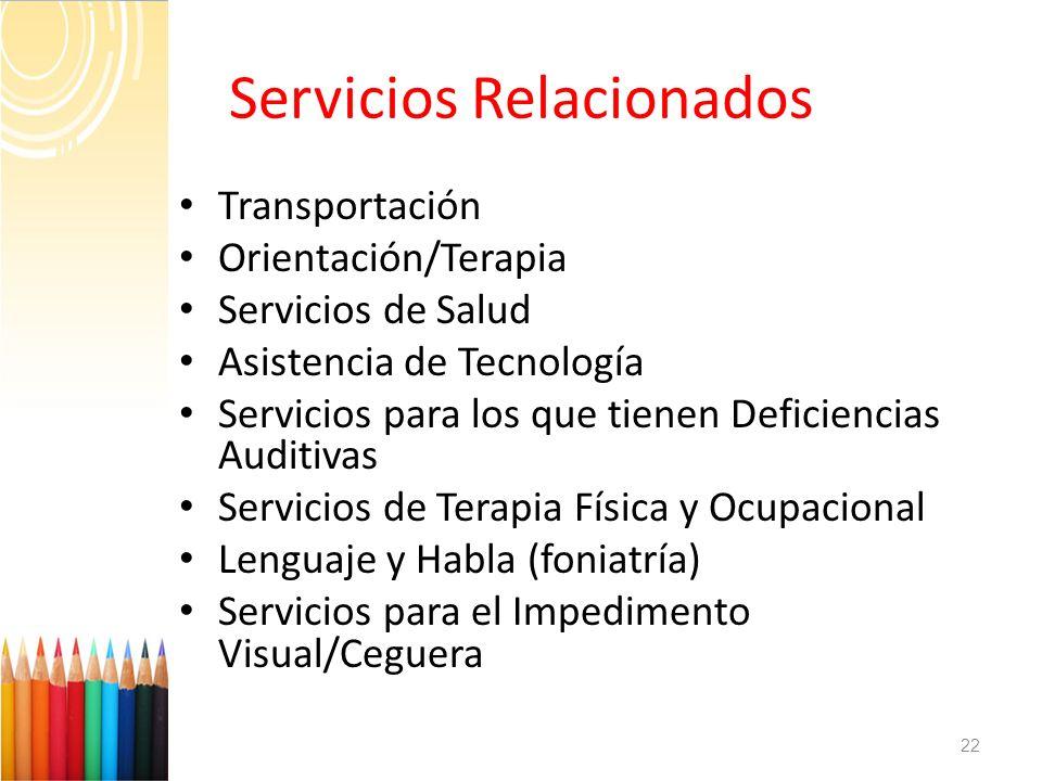 Servicios Relacionados