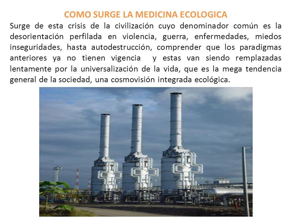 COMO SURGE LA MEDICINA ECOLOGICA
