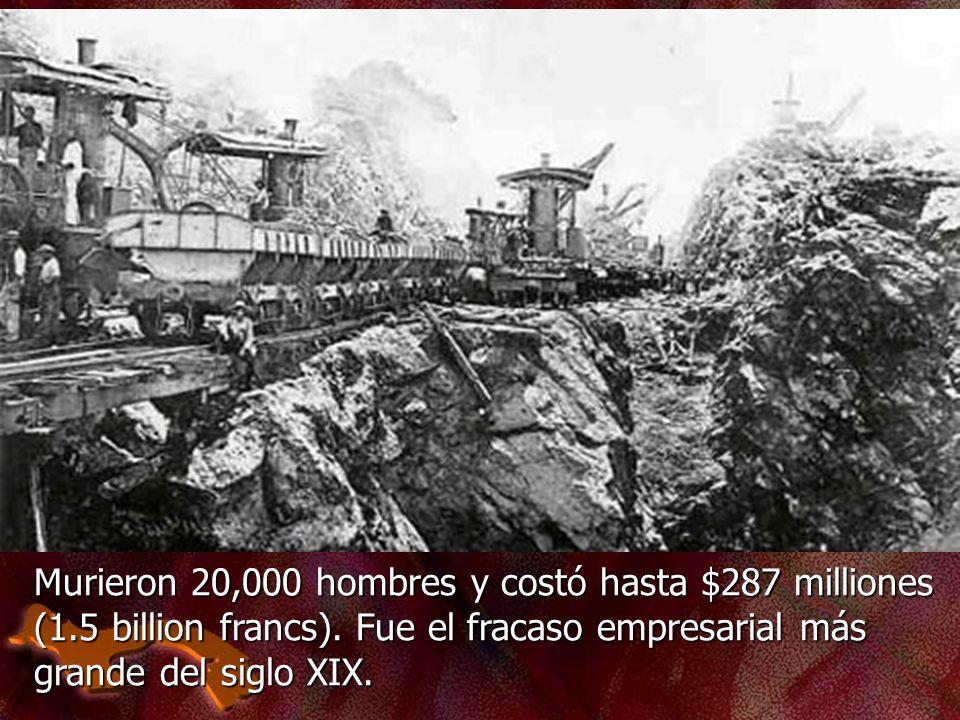 Murieron 20,000 hombres y costó hasta $287 milliones (1