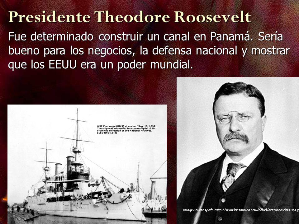 Presidente Theodore Roosevelt