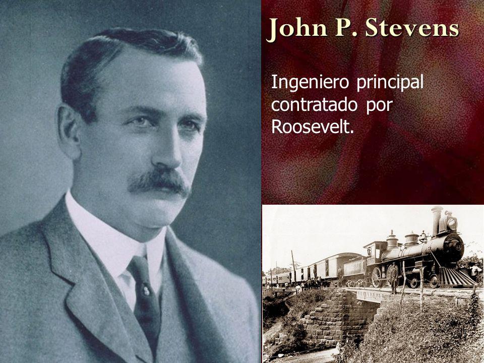 John P. Stevens Ingeniero principal contratado por Roosevelt.