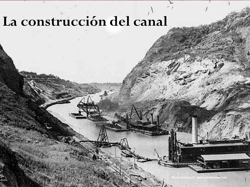 La construcción del canal