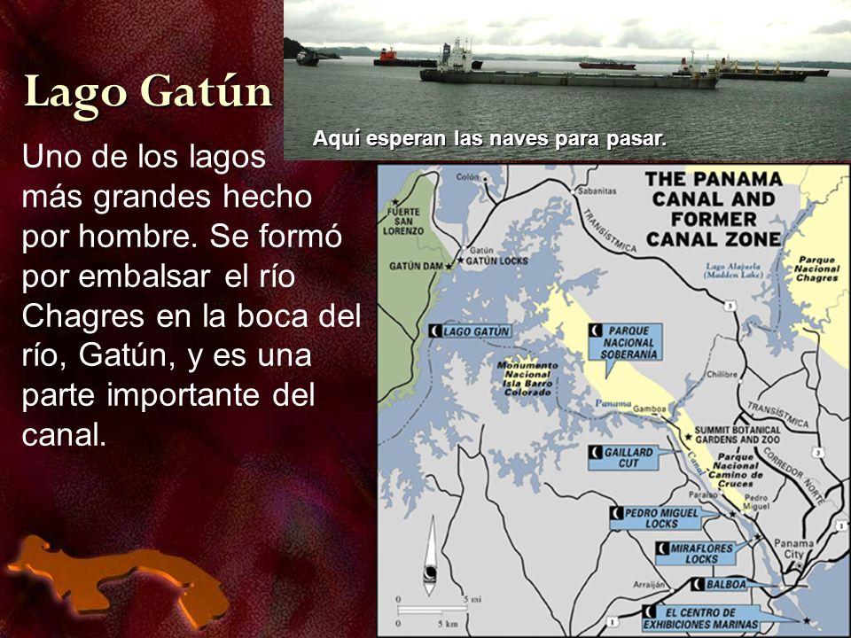 Lago Gatún Uno de los lagos