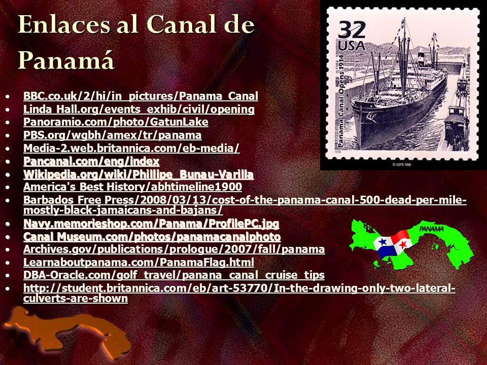 Enlaces al Canal de Panamá