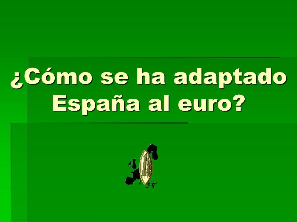 ¿Cómo se ha adaptado España al euro