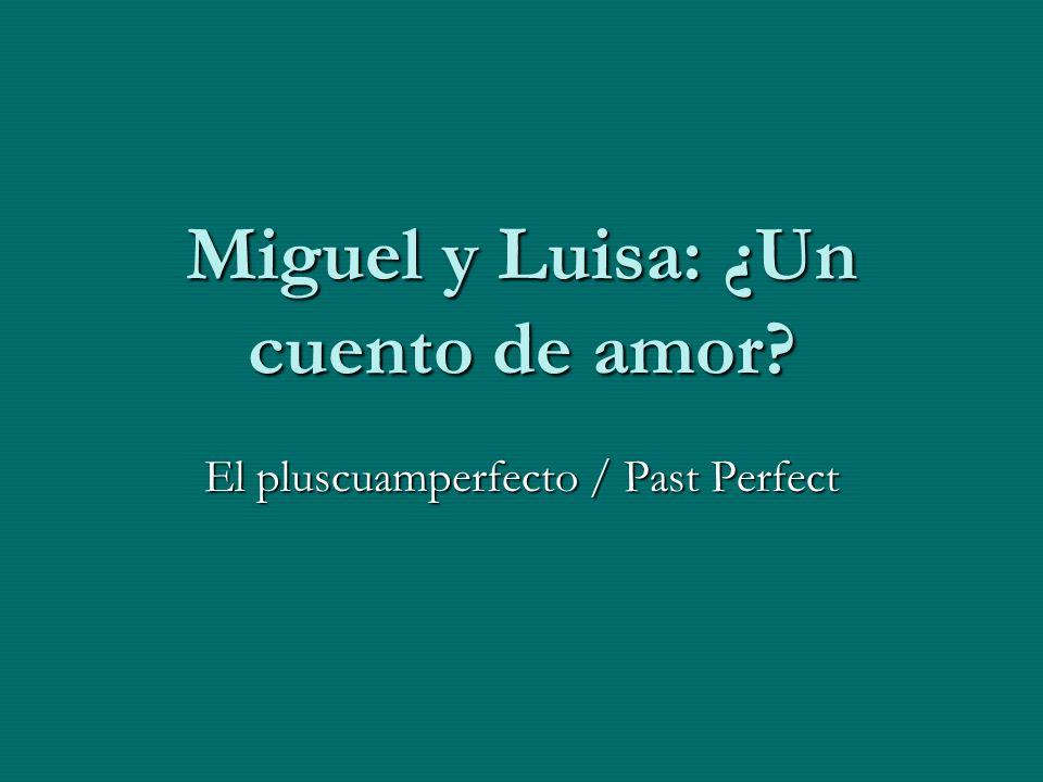 Miguel y Luisa: ¿Un cuento de amor