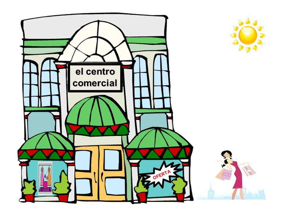 el centro comercial OFERTA