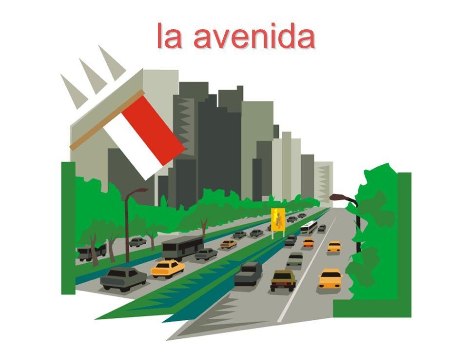 la avenida