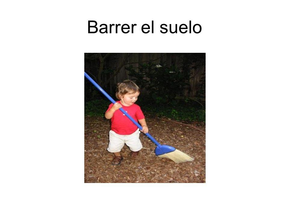 Barrer el suelo