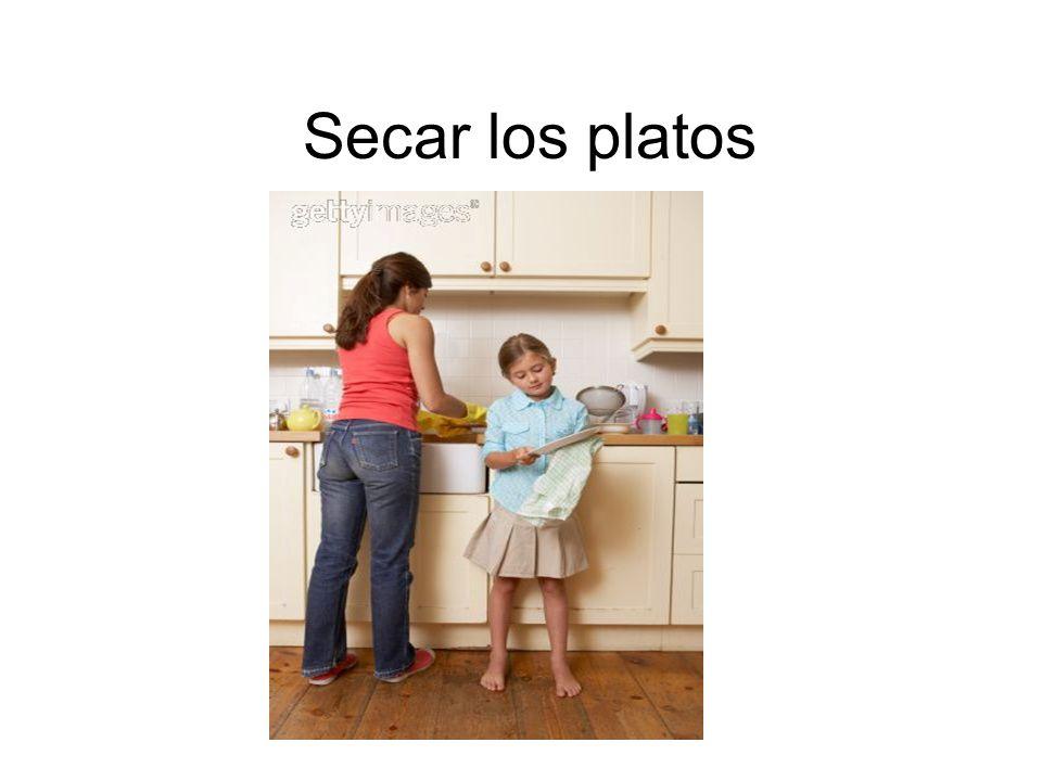 Secar los platos