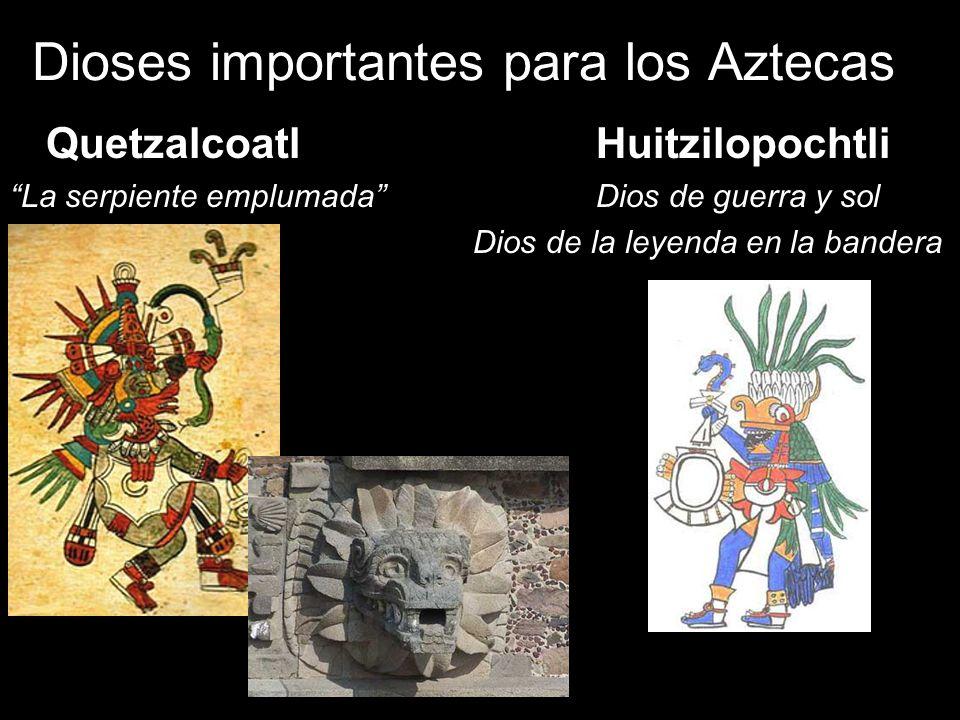 Dioses importantes para los Aztecas